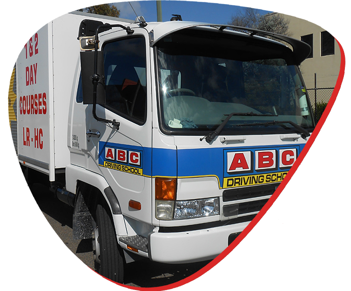 abc driving school truck